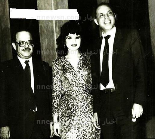 الهام شاهين وزوجها الاول1 صورة نادرة للفنانة الهام شاهين مع اول ازواجها المنتج عادل حسنى