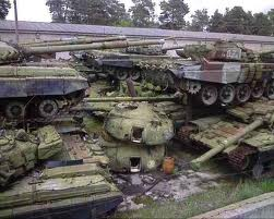 دبابات خردة