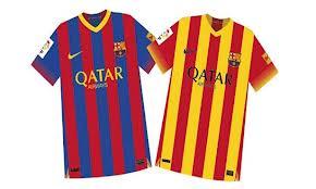 قميص برشلونة الجديد