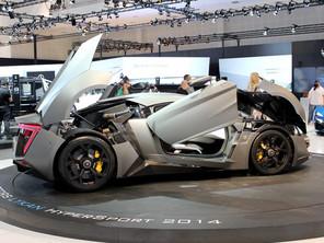 معرض دبي الدولي للسيارات 2013