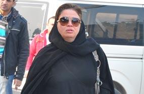 الهام شاهين صور جنازة زهرة العلا بحضور الفنانين الخميس 19 ديسمبر 2013