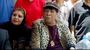 شعبان عبد الرحيم و زوجته