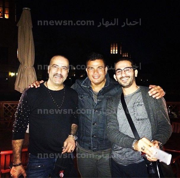 عمرو دياب واحمد حلمي و محمد سعد