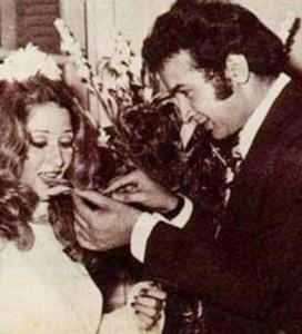 فرح نور الشريف وبوسي 272x300 صور حفل زفاف نور الشريف و بوسي صور نادرة