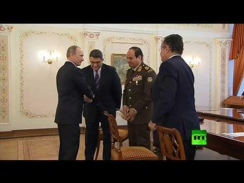 السيسي مع بوتين