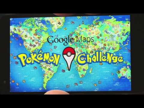 فيديو خرائط جوجل تساعدك في الوصول الي البوكيمون