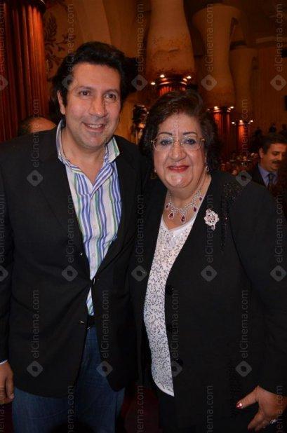 هاني رمزي ووالدته