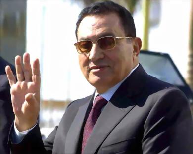 الرئيس المصري الاسبق محمد حسني مبارك