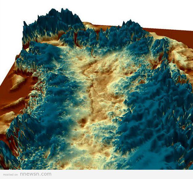 خريطة الوادي الخفي معلومات عن الوادي الخفي اطول وادي في العالم في اكبر جزيرة في العالم جرينلاند بالقطب الشمالى بالصور
