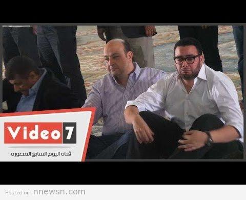 جنازة ام عمرو اديب