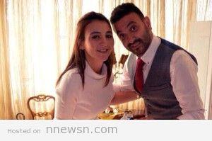 كريم محسن وزوجته هالة دعبس 300x199 كريم محسن وزوجته هالة دعبس