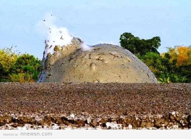بركان الطين