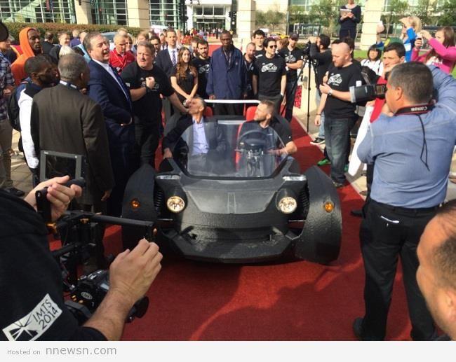 سيارة مصنوعة بطابعة ثلاثية الأبعاد