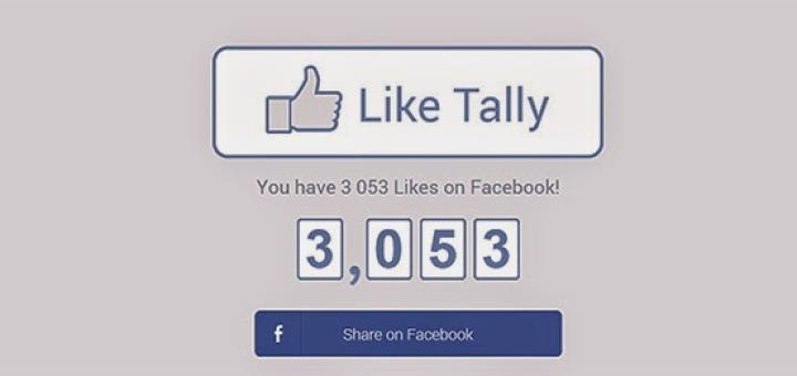 عدد اللايكات علي فيسبوك