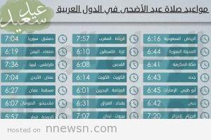 موعد صلاة عيد الأضحى 2014 300x199 توقيت صلاة عيد الاضحي في المدن و العواصم العربية بالتوقيت المحلي