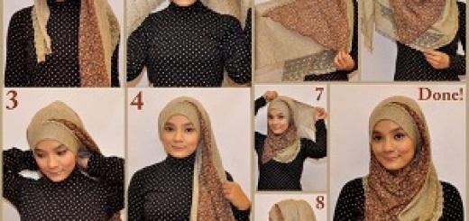 لفة حجاب