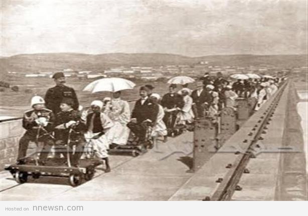 افتتاح سد اسوان صورة نادرة للحظة افتتاح سد اسوان عام 1902م