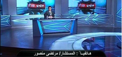 برنامج مساء الانوار خناقة مرتضى و صحفي المصري اليوم