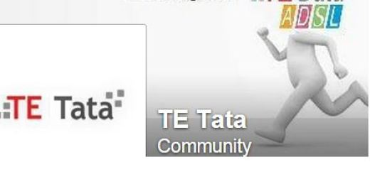 te data facebook page اختراق