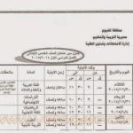 خامسة ابتدائي الفيوم 150x150 جدول امتحانات صفوف النقل الابتدائي بالفيوم الترم الاول 2015