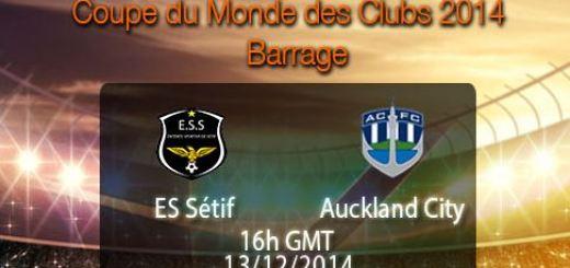 ES Sétif VS Auckland City match result 2014