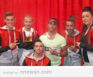 ahmed x stand up crew arabs got talent 2015 300x251 ahmedx في Arabs Got Talent 2015 مشترك مصري العاب اعصاب في برنامج المواهب ارابز غوت تالنت