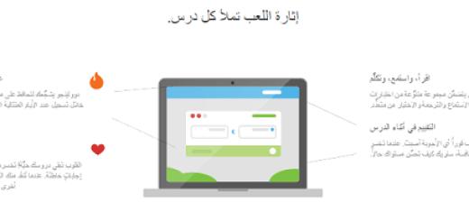 طريقة عمل موقع duolingo