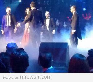 phantom of opera arab idol 13 12 2014 300x264 مشتركي اراب ايدول الحلقة الاخيرة استعراض على كلمات اغنية شبح الاوبرا اوبرا عربية من فيلم phantom of opera شاهد ARAB Idol 2014 بالصور