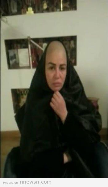 elham shahin cut her hair new movie