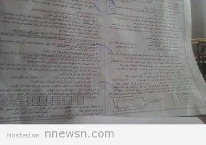 physics exam azhar thanawya 2015 300x211 نموذج امتحان فيزياء ثانوية ازهرية 2015 ورقة اسئلة اختبار الفيزياء لطلاب الازهر الشريف