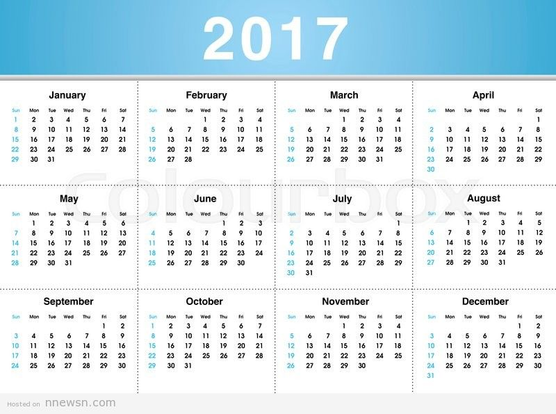 Happy New Year 2017 Calendar نتيجة | رزنامة العام 2017 السنة الميلادية الجديدة بالصور